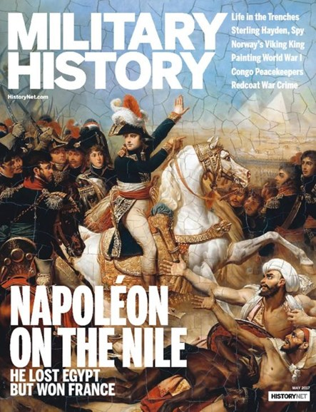 Military History Cover - 5/1/2017