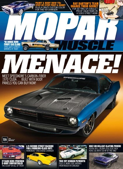 Mopar Muscle Cover - 5/1/2017