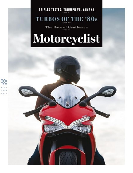Motorcyclist Cover - 5/1/2017