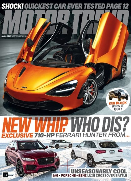 Motor Trend Cover - 5/1/2017