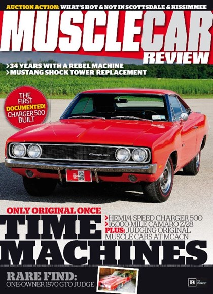 Muscle Car Review Cover - 5/1/2017