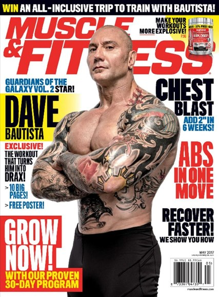 Muscle & Fitness Cover - 5/1/2017