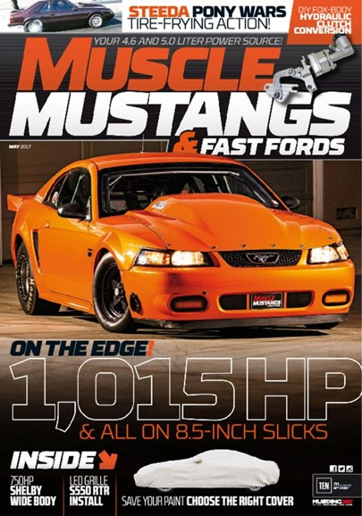 Muscle Mustangs & Fast Fords Cover - 5/1/2017