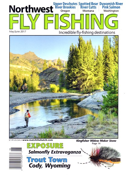 Northwest Fly Fishing Cover - 5/1/2017