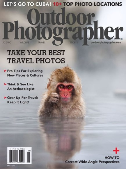 Outdoor Photographer Cover - 5/1/2017