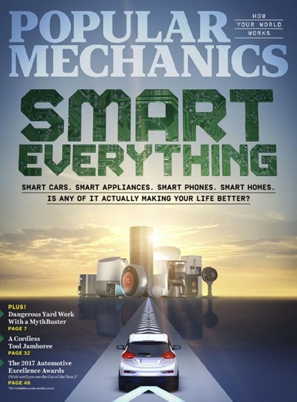Popular Mechanics Cover - 5/1/2017