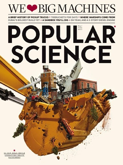 Popular Science Cover - 5/1/2017