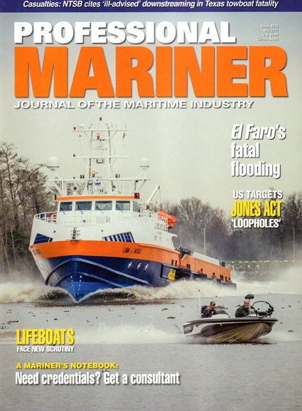 Professional Mariner Cover - 5/1/2017