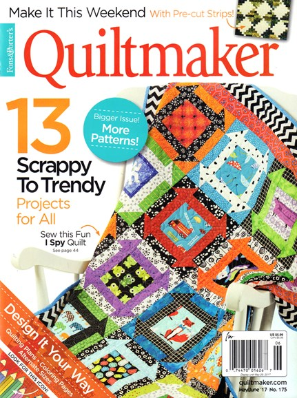 Quiltmaker Cover - 5/1/2017