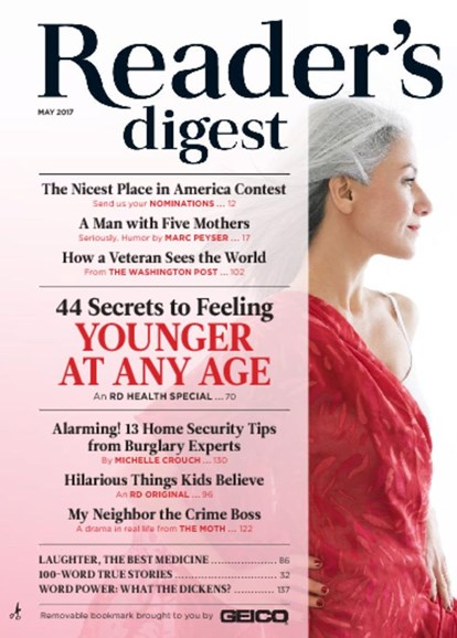 Reader's Digest Cover - 5/1/2017