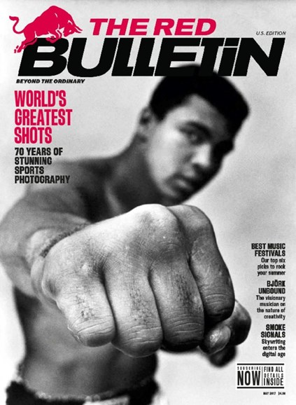 The Red Bulletin Cover - 5/1/2017