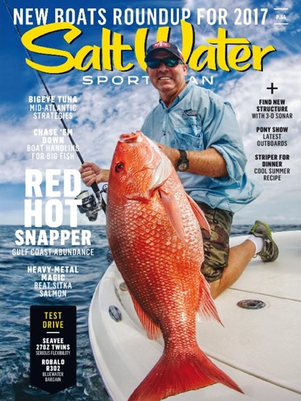 Salt Water Sportsman Cover - 5/1/2017