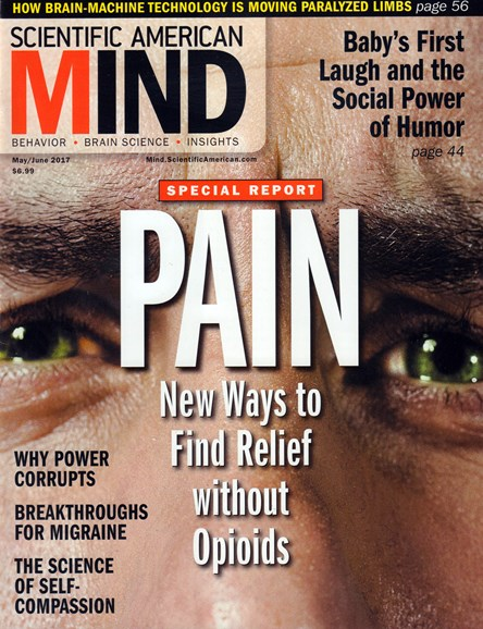 Scientific American Mind Cover - 5/1/2017