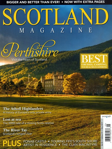 Scotland Magazine Cover - 5/1/2017