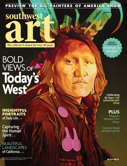 Southwest Art Cover - 5/1/2017