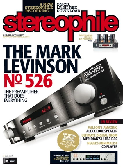 Stereophile Cover - 5/1/2017