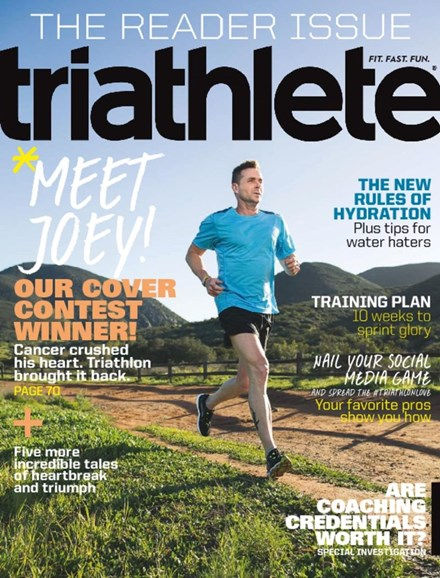 Triathlete Cover - 5/1/2017