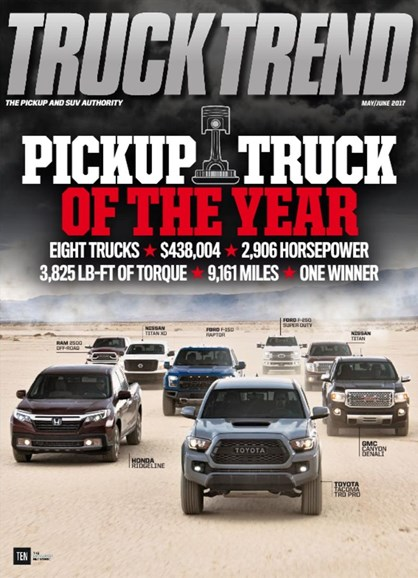 Truck Trend Cover - 5/1/2017
