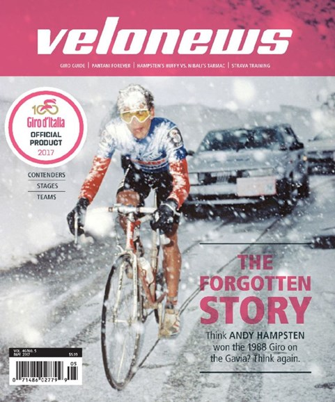 VeloNews Cover - 5/1/2017