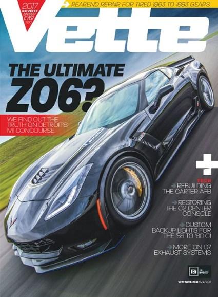 Vette Cover - 5/1/2017