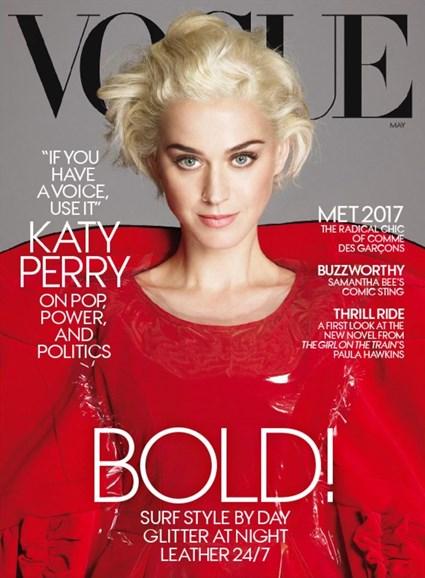 Vogue Cover - 5/1/2017