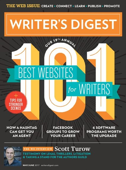 Writer's Digest Cover - 5/1/2017