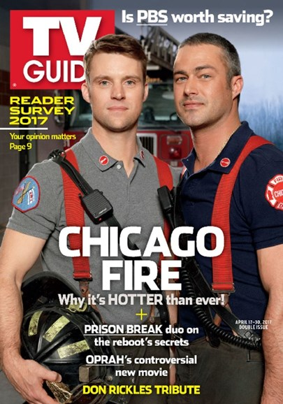 TV Guide Cover - 4/17/2017
