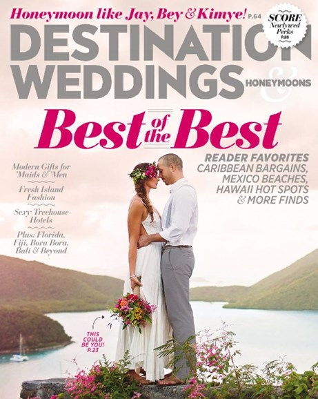 Destination Weddings & Honeymoons Cover - 11/1/2015