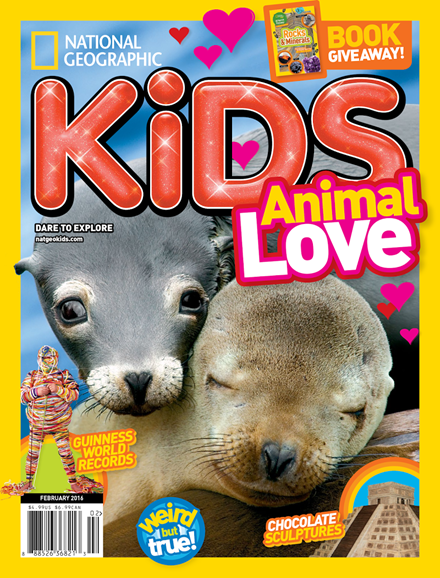National Geographic Kids Cover - 2/1/2016
