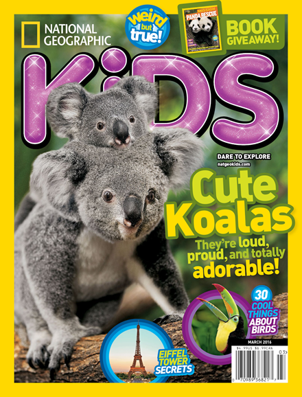 National Geographic Kids Cover - 3/1/2016