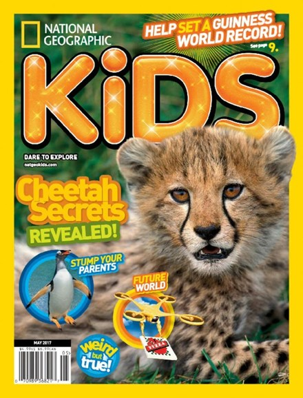 National Geographic Kids Cover - 5/1/2017