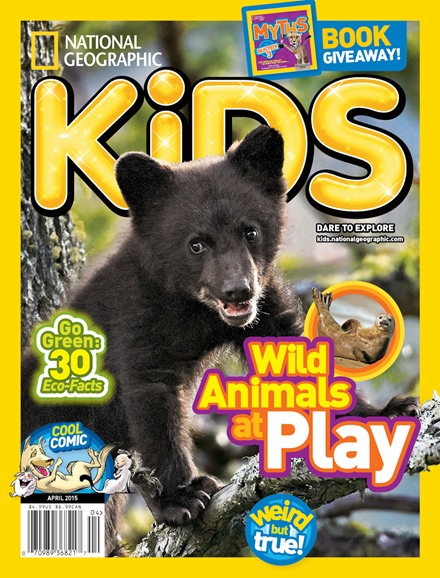 National Geographic Kids Cover - 4/1/2015