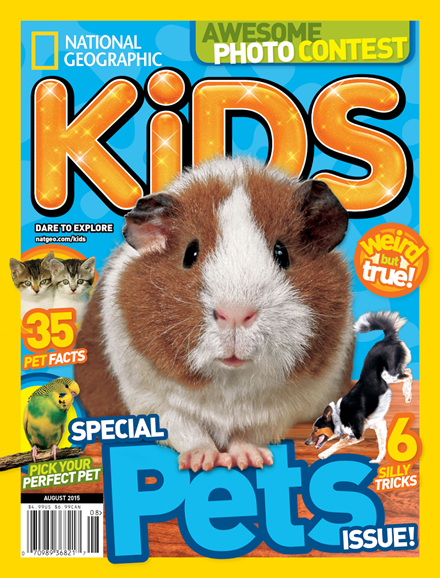 National Geographic Kids Cover - 8/1/2015