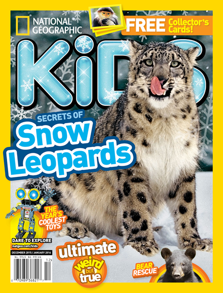 National Geographic Kids Cover - 12/1/2015