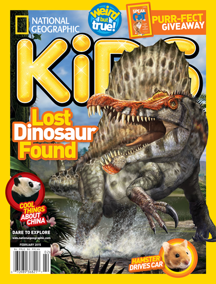National Geographic Kids Cover - 2/1/2015