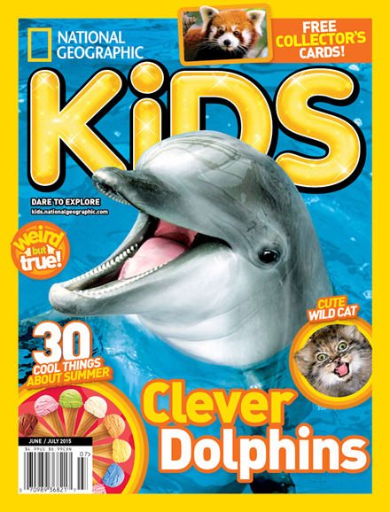 National Geographic Kids Cover - 6/1/2015