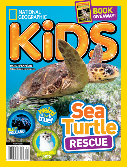 National Geographic Kids Cover - 3/1/2015