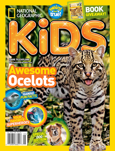 National Geographic Kids Cover - 5/1/2015