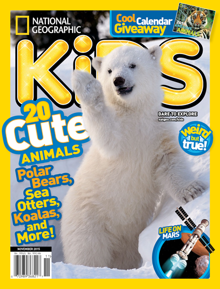 National Geographic Kids Cover - 11/1/2015