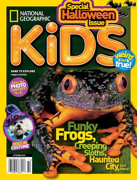 National Geographic Kids Cover - 10/1/2015