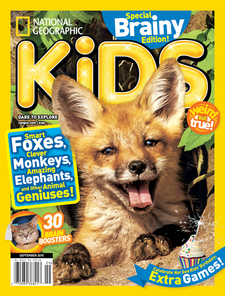 National Geographic Kids Cover - 9/1/2015