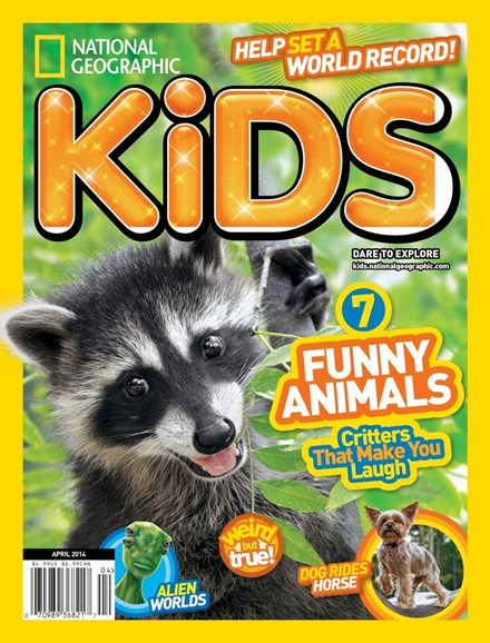 National Geographic Kids Cover - 4/1/2014