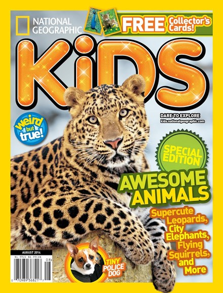 National Geographic Kids Cover - 8/1/2014