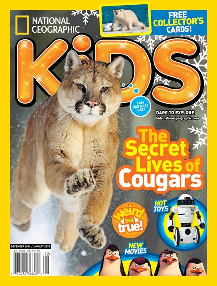 National Geographic Kids Cover - 12/1/2014