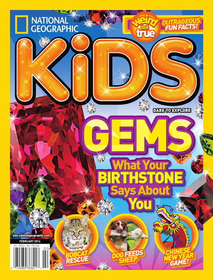 National Geographic Kids Cover - 2/1/2014