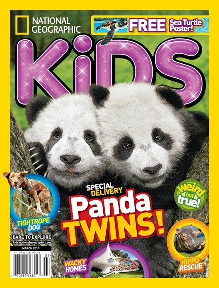 National Geographic Kids Cover - 3/1/2014