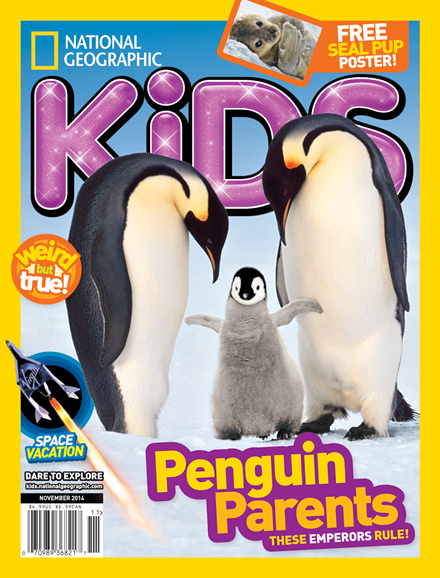 National Geographic Kids Cover - 11/1/2014