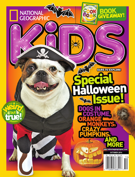 National Geographic Kids Cover - 10/1/2014