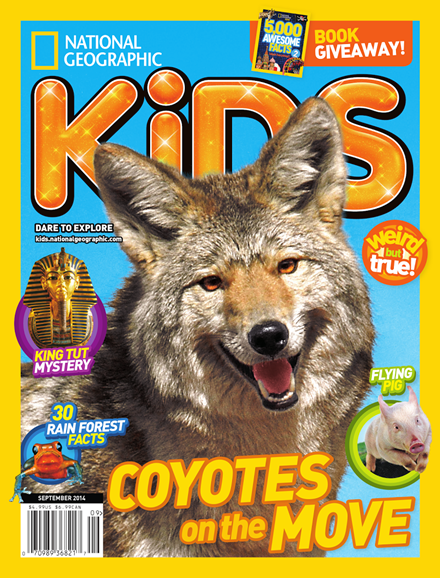 National Geographic Kids Cover - 9/1/2014