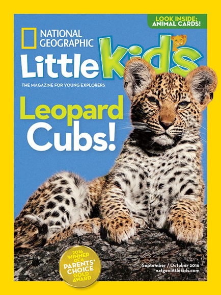 National Geographic Little Kids Cover - 9/1/2016